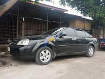 Cần bán gấp Daewoo Lacetti MT sản xuất năm 2009, màu đen, giá 190tr