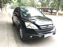 Bán xe Honda CR V 2.4 đời 2009, máy xăng, số tự động, màu đen, 525 triệu, LH 0937047909