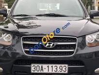 Cần bán xe Hyundai Santa Fe MLX sản xuất năm 2008, màu đen
