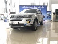Bán Ford Explorer sản xuất năm 2018, màu trắng, nhập khẩu nguyên chiếc