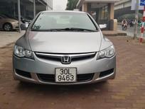 Cần bán Honda Civic 1.8MT năm sản xuất 2008, màu bạc