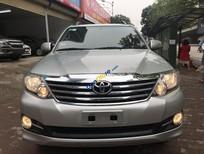 Bán Toyota Fortuner 2.7V 4x2 AT năm 2015, màu bạc, số tự động, giá chỉ 740 triệu