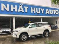 Cần bán xe Toyota Fortuner 2.7 (4x4) năm 2017, màu trắng, nhập khẩu số tự động