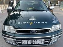 Cần bán lại xe Ford Laser Deluxe 1.6MT năm 2001, màu xanh lục chính chủ giá cạnh tranh