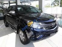 Bán Mazda BT 50 2.2MT sản xuất 2018, màu xanh lam, nhập khẩu nguyên chiếc