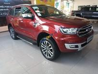 Cần bán xe Ford Everest Titanium 2.0 4x2 AT sản xuất năm 2019, màu đỏ, nhập khẩu nguyên chiếc