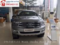 Bán Ford Everest Titanium 2.0L 4x2 AT 2019, màu bạc, nhập khẩu nguyên chiếc