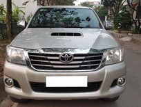 Bán xe Toyota Hilux E 2014 MT máy dầu màu bạc, xe nhập