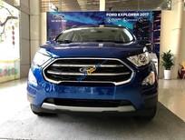 Bán xe Ford EcoSport Titanium năm sản xuất 2019, màu xanh lam, 628 triệu