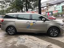 Bán Kia Sedona 2.2 DATH năm sản xuất 2016, màu vàng xe gia đình