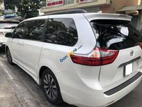 Cần bán xe Toyota Sienna Limited năm 2018, màu trắng, nhập khẩu nguyên chiếc chính chủ