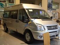 Bán xe Ford Transit 2.4 Mid năm sản xuất 2019, màu bạc