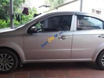 Cần bán Daewoo Gentra SX năm sản xuất 2009, màu bạc, nhập khẩu nguyên chiếc ít sử dụng, giá 170tr