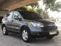 Cần bán gấp Honda CR V 2.0AT năm sản xuất 2009, màu xám, nhập khẩu nguyên chiếc