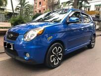Bán ô tô Kia Morning SLX sản xuất 2009, màu xanh lam, nhập khẩu số tự động, 254 triệu