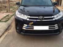 Bán Toyota Highlander LE sản xuất năm 2017, màu đen, nhập khẩu
