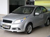 Bán ô tô Chevrolet Aveo LT 1.4MT năm 2016, màu bạc