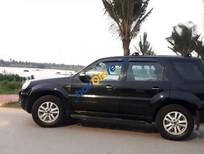 Cần bán Ford Escape XLS sản xuất 2009, màu đen xe gia đình, 380 triệu