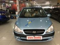 Cần bán gấp Hyundai Getz MT sản xuất năm 2009, màu xanh lam, xe nhập