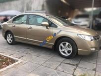 Cần bán xe Honda Civic 1.8AT sản xuất năm 2009, màu vàng chính chủ