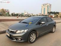 Cần bán Honda Civic 1.8 AT năm 2012, màu xám, xe Sedan, 4 cửa, 5 chỗ