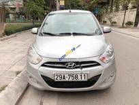 Bán gấp Hyundai i10 MT 1.2 năm 2014, màu bạc, nhập khẩu