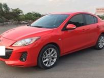 Cần bán gấp Mazda 3 AT model 2014, màu đỏ