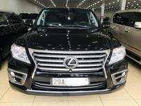Bán Lexus LX570 nhập Mỹ, màu đen, sản xuất 2010, đăng ký 2011, đã lên form 2015, xe siêu đẹp, biển Hà Nội