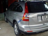 Bán Honda CR V năm sản xuất 2010, màu bạc, giá chỉ 550 triệu