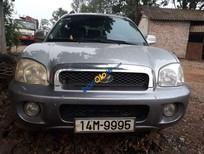 Bán Hyundai Santa Fe năm sản xuất 2004, màu bạc, nhập khẩu