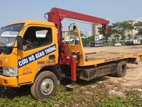 Bán xe cứu hộ giao thông 3.5 tấn sàn trượt, có cẩu đời 2011, giá 400tr