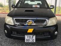 Cần bán gấp Toyota Hilux 3.0G 4x4 MT năm 2009, màu đen