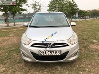 Cần bán Hyundai i10 1.2 MT sản xuất năm 2014, màu bạc, nhập khẩu chính chủ