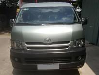 Bán Toyota Hiace 2010 máy xăng 15 chỗ, giá 325tr. Liên hệ Phong 0903616317 - 0931451542