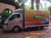 Bán xe JAC 1T25, máy Isuzu đời 2019 thủ tục nhanh