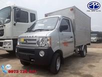 Bán xe tải nhẹ Dongben, thùng kín tải 770kg siêu bền