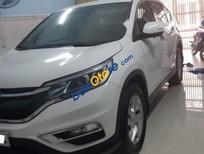 Cần bán lại xe Honda CR V 2.0 năm sản xuất 2015, màu trắng xe gia đình