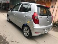 Cần bán Hyundai i10 1.2MT sản xuất năm 2014, màu bạc