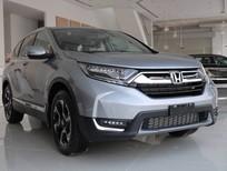 Bán xe ô tô Honda CR-V bản L, màu bạc, giao ngay, tặng full option trong tháng