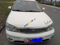 Bán Ford Laser MT LXi 1.6 đời 2005, màu trắng, xe chạy rất tiết kiệm xăng, êm ru, điều hoà lạnh teo