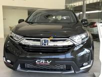 Bán Honda CR V 1.5G năm sản xuất 2019, màu xám, nhập khẩu