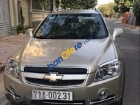 Cần bán xe Chevrolet Captiva LTZ sản xuất năm 2011, màu vàng xe gia đình, giá chỉ 328 triệu
