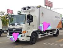 Xe Hino đông lạnh 8 tấn FG thùng dài 7.9m - máy lạnh T3500