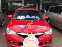 Cần bán Honda Civic 2.0AT sản xuất 2008, màu đỏ, giá tốt