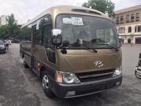 Giảm nóng 25 triệu - Hyundai County thân dài Đồng Vàng - Sản xuất 2018
