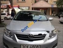 Xe Toyota Corolla năm sản xuất 2009, màu bạc, xe nhập chính chủ
