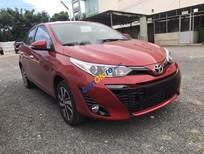 Cần bán Toyota Yaris 1.5G sản xuất 2019, màu đỏ, xe nhập, giá chỉ 640 triệu