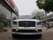 Bán Lincoln Navigator L Black Label màu trắng, nội thất nâu đỏ, xe sản xuất 2019, mới 100%