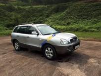 Bán Hyundai Santa Fe sản xuất 2004, màu bạc
