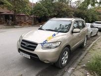 Cần bán xe Hyundai Santa Fe AT đời 2007, màu vàng